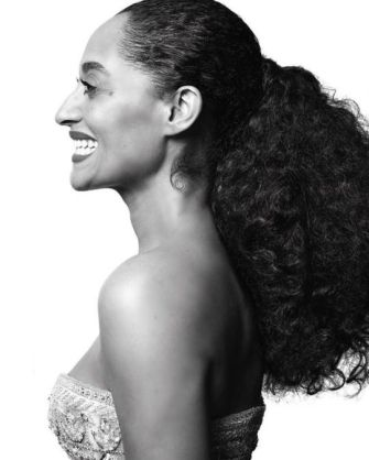 tracee ellis ross pony tail